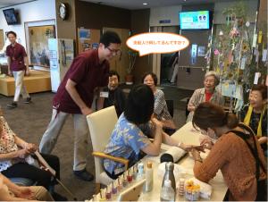 2019年7月4日~訪問ネイル見学会~